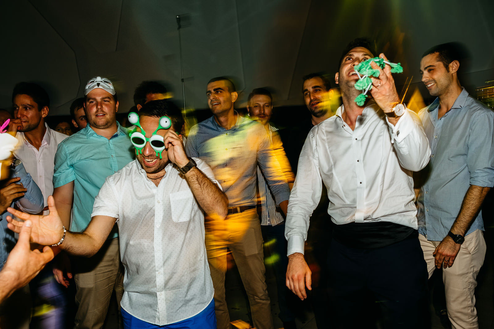 tel aviv wedding party