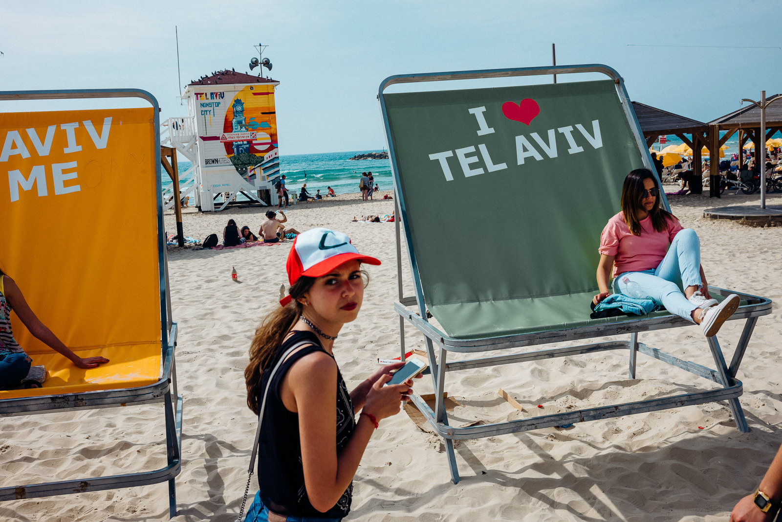 tel aviv famous beach
