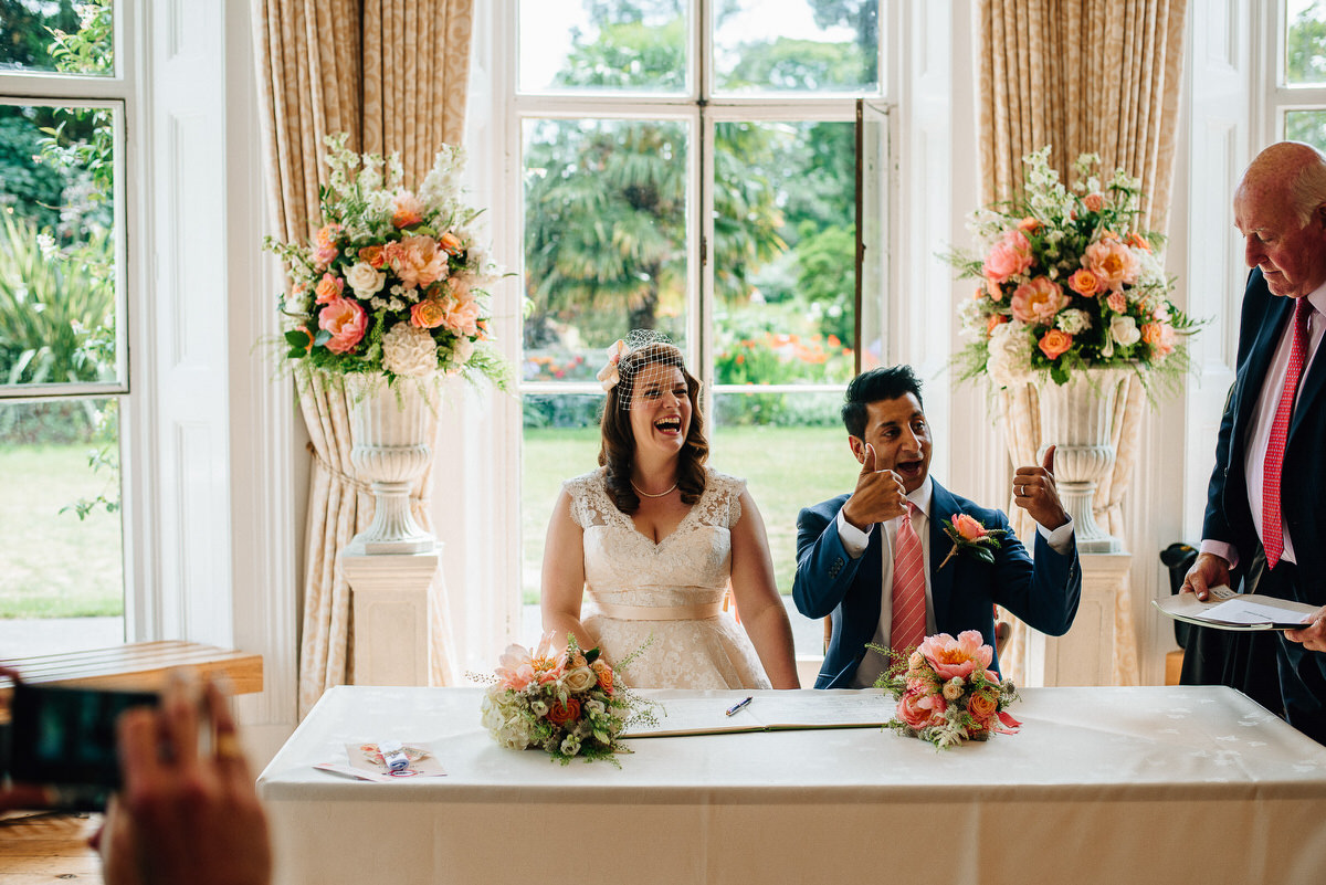 Kew Gardens Wedding