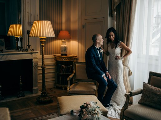Elegant city wedding