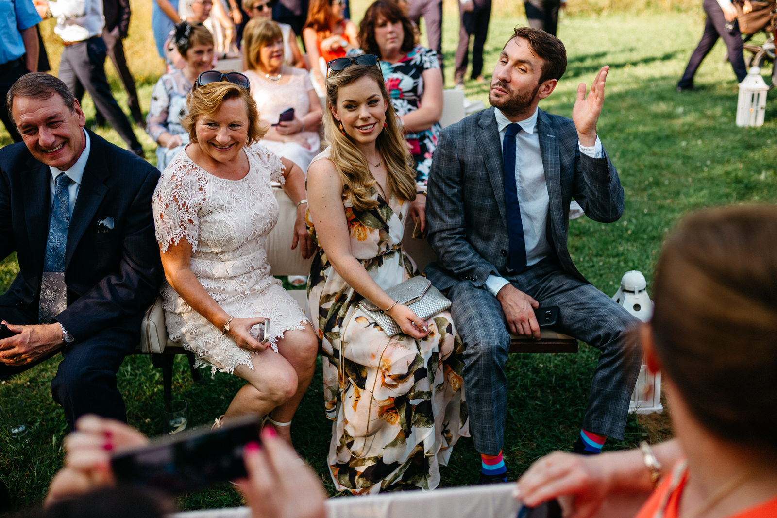relaxed outdoor wedding 014