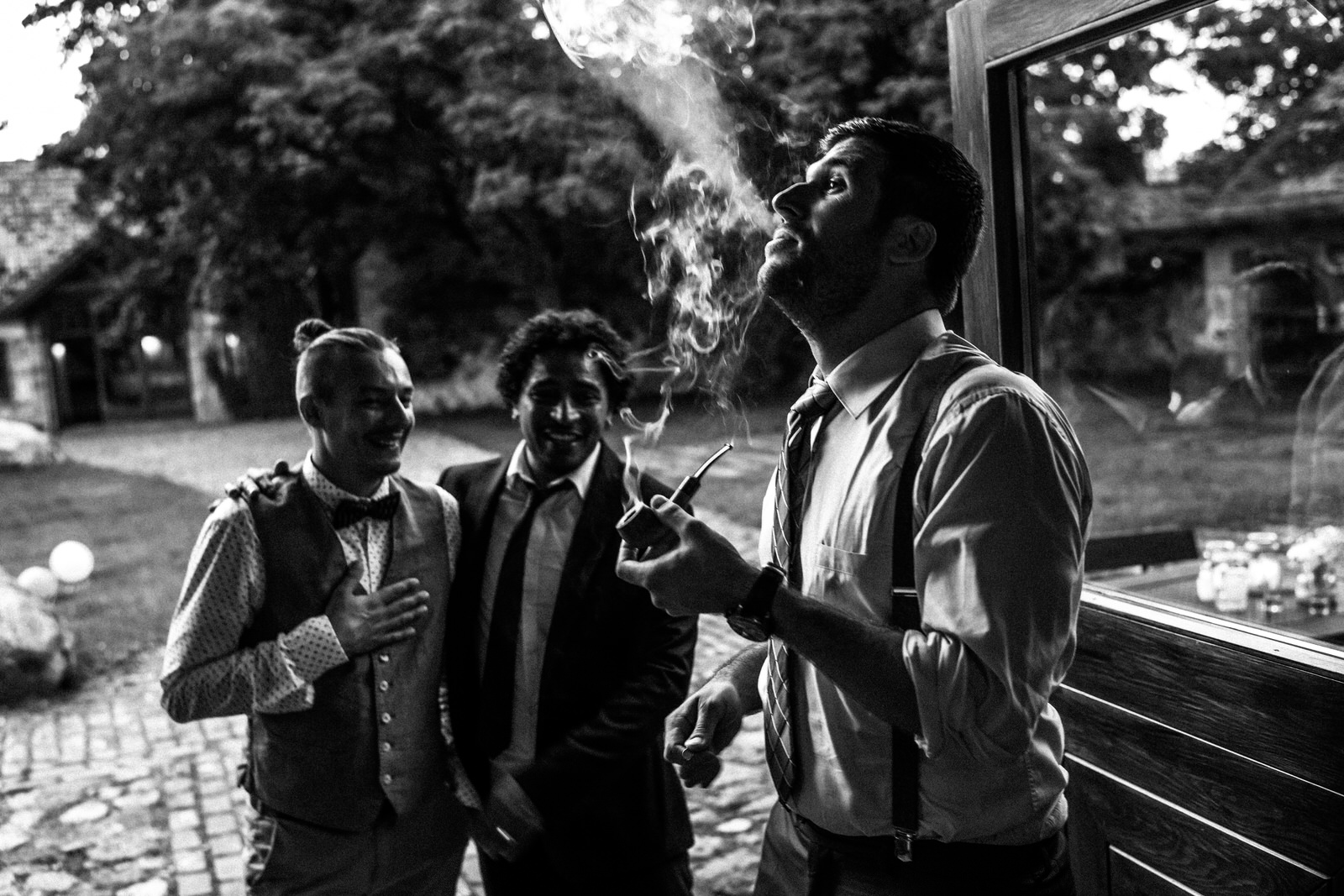 relaxed outdoor wedding 036