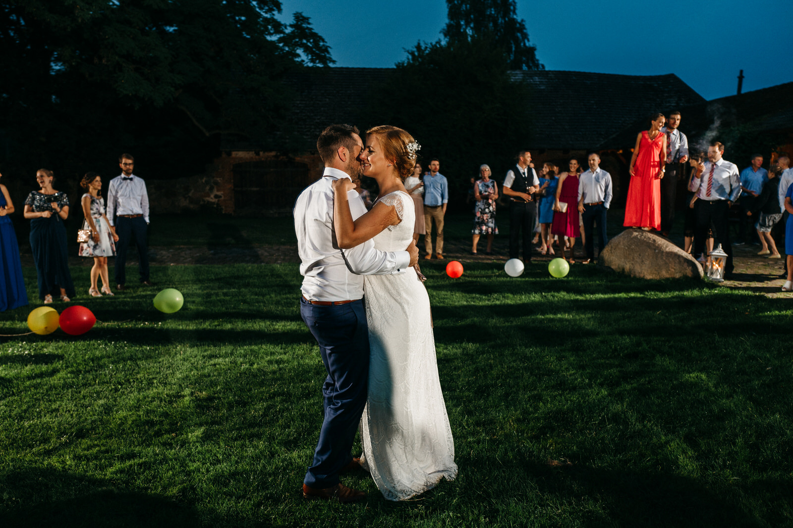 first dance on the field