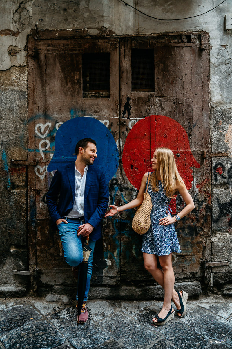 naples engagement session